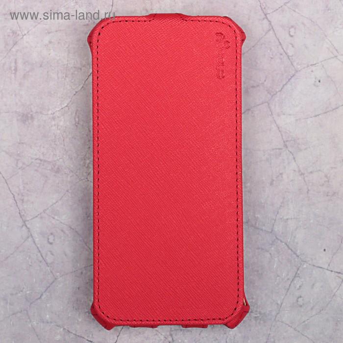 Чехол-флип Snoogy для iPhone 6/6s, иск. кожа, Красный