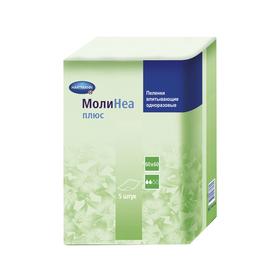 Впитывающие пелёнки MoliNea plus 60х60 см, 110 г/м², 5 шт Ош