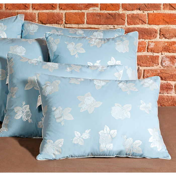 Подушка «Аракса», размер 60 × 60 см, тик, голубой