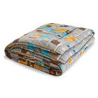 "Одеяло тёплое ""Полли"", размер 140х205 см, поплин, микс"