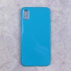 Чехол Activ Juicy для Apple iPhone X, синий