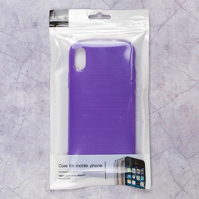 Чехол Activ Juicy для Apple iPhone X, пурпурный