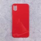 Чехол Activ Juicy для Apple iPhone X, красный