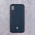 Чехол Activ T Leather для Apple iPhone X, синий