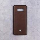 Чехол Activ T Leather SM-G955 для Samsung Galaxy S8 Plus, коричневый
