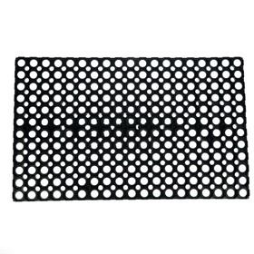 Коврик ячеистый грязесборный 50×80×1,2 см цвет чёрный