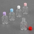 Бутылочка для хранения, 65мл, прозрачная крышка, цвет МИКС
