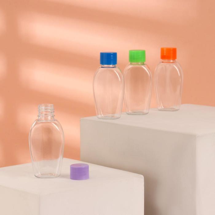 Бутылочка для хранения, 45мл, цвет МИКС