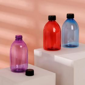 Бутылочка для хранения, 270 мл, цвет чёрный/МИКС