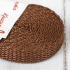 Стропа, ширина 10мм, 3,5м, цвет коричневый