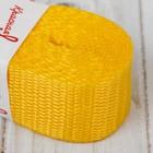 Стропа, ширина 30мм, 2,5м, цвет жёлтый