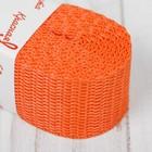 Стропа, ширина 30мм, 2,5м, цвет оранжевый