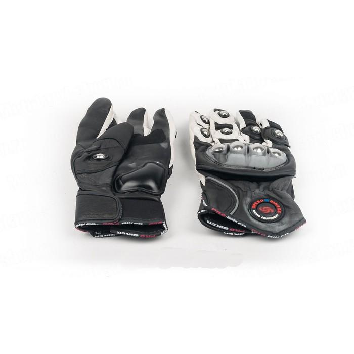 Перчатки Мото MCS-28, размер L, черно-белый
