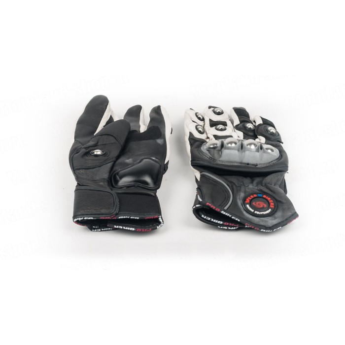 Перчатки Мото MCS-28, размер M, черно-белый