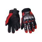 Перчатки Мото MCS-02, размер M, черно-красный