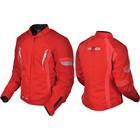 Куртка мотоциклетная женская, HIZER 518, размер M, красный