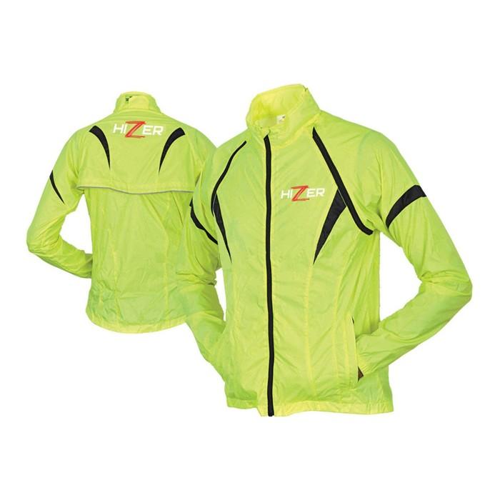 Куртка мотоциклетная, HIZER 537, текстиль, размер XXL, салатовый
