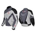 Куртка мотоциклетная, HIZER 515, текстиль, размер L, черно-серый