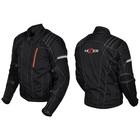Куртка мотоциклетная, HIZER 514, текстиль, размер XXL, черный