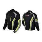 Куртка мотоциклетная, HIZER 508, текстиль, размер L, черный