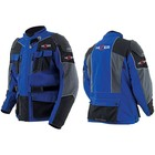 Куртка мотоциклетная, HIZER 333-A, текстиль, размер L, серо-синий