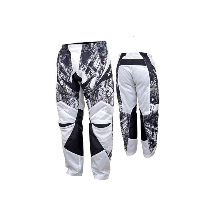 Штаны мотоциклетные кросс, текстиль, HIZER 8038, размер L