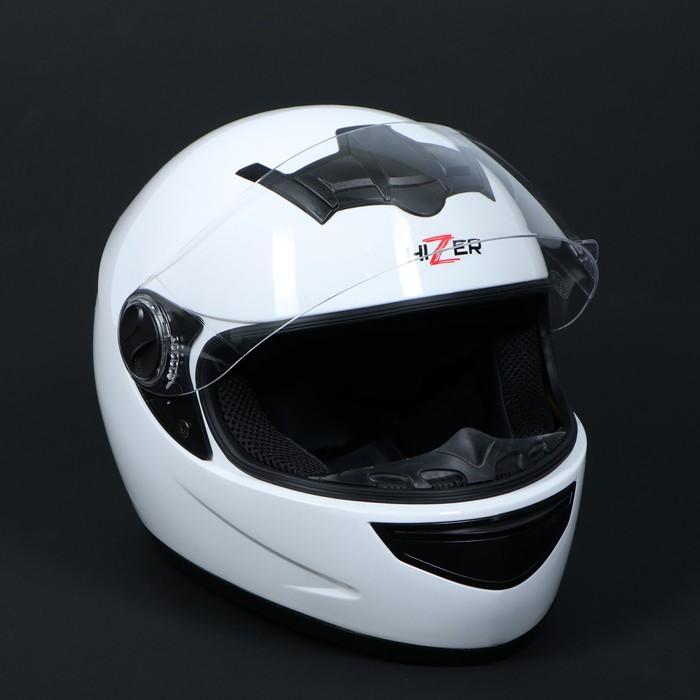 Шлем HIZER 523-1, размер XL, белый