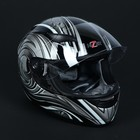 Шлем HIZER 521-5, размер XL, черно/серый