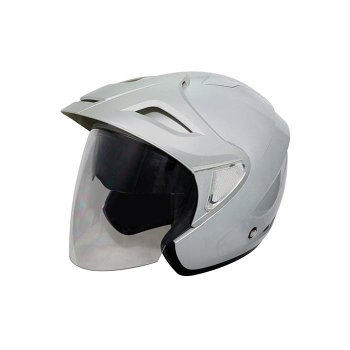 Шлем THH T-378, размер M, серый, 2-стекла