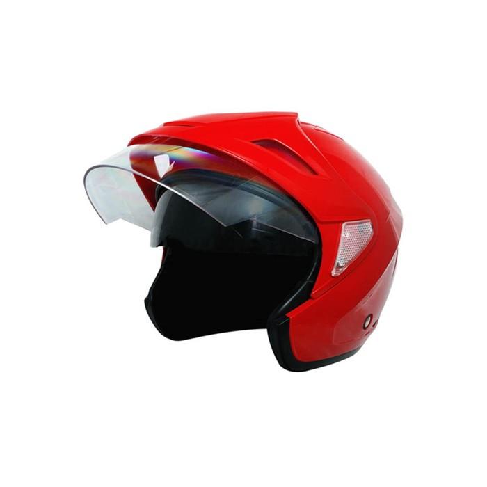 Шлем THH T-378, размер M, красный, 2-стекла