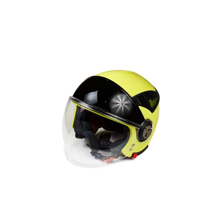 Шлем HIZER 220, размер S, желто/черный