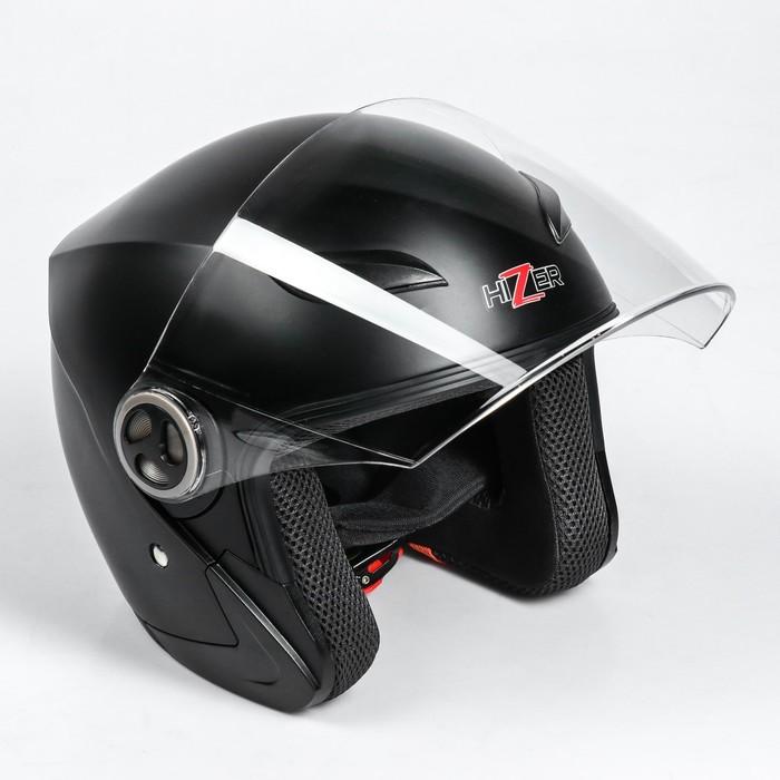 Шлем HIZER 219-2, размер L, черный матовый