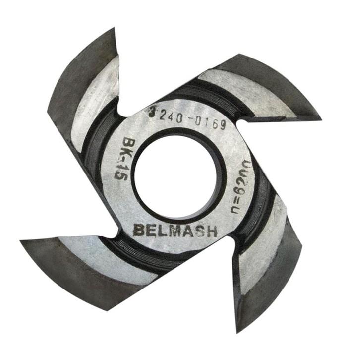 Фреза радиусная BELMASH, для фрезерования полуштапов, 125х32х17 мм (правая), R12