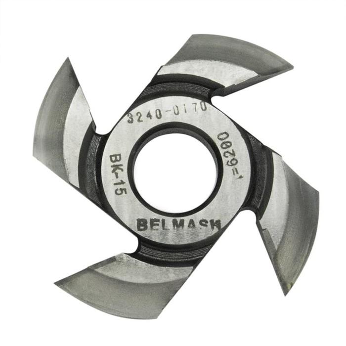 Фреза радиусная BELMASH, для фрезерования полуштапов, 125х32х19 мм (правая), R14