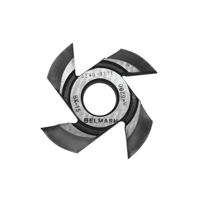 Фреза радиусная BELMASH, для фрезерования полуштапов, 125х32х21 мм (правая), R16