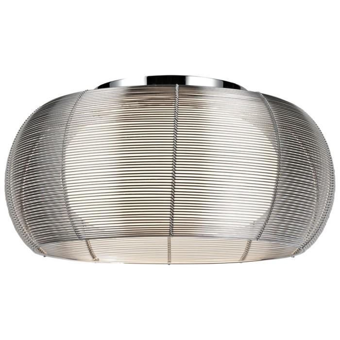 Люстра SETMO 2x60Вт E27 хром, серебро 40x40x17см