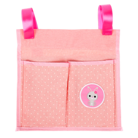"""Pockets on the crib, """"Sweet baby"""", 2 compartments"""