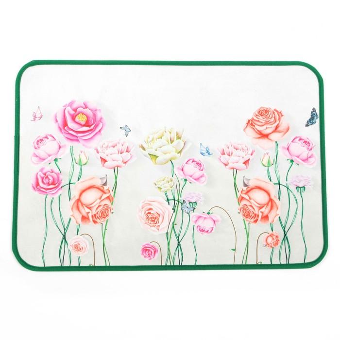 Коврик «Розы», 40×60 см