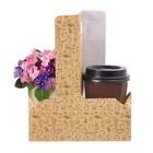 """Переноска для цветов и кофе """"Доброе утро"""" , 21.5 × 17 × 8 см - фото 308068513"""