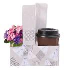 Переноска для цветов и кофе «Геометрия», 21.5 × 17 × 8 см - фото 308068518