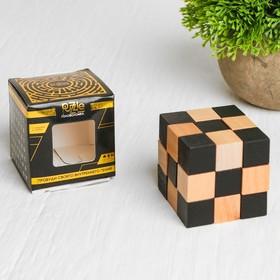 Головоломка-мини деревянная «Куб»