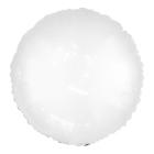 "Polymeric balloon 18"" Neon, round, color white"