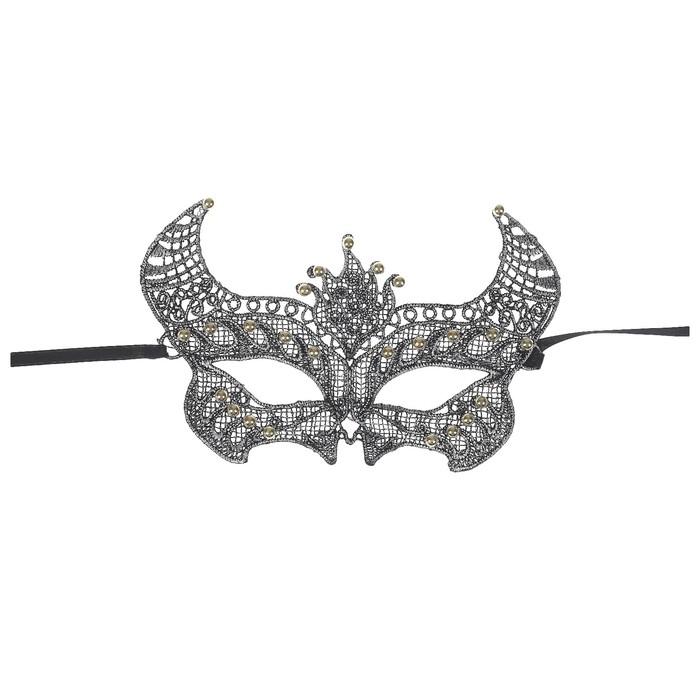 Карнавальная маска «Затейница», ажур