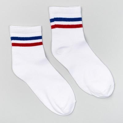 Носки женские Нжу533-9 цвет белый, р-р 23-25 (36-40)