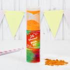 """Хлопушка - цветной дым """"Яркий взрыв эмоций"""", оранжевый, 20 см"""