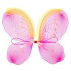 """Карнавальные крылья """"Бабочка"""" с узорами, цвет фуксия"""