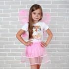 Карнавальный набор «Бабочка», 2 предмета: юбка и крылья - фото 105446082