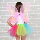 """Карнавальный набор """"Бабочка"""" 2 предмета: юбка и крылья"""