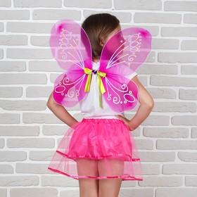 Карнавальный набор «Фея», 2 предмета: юбка и крылья