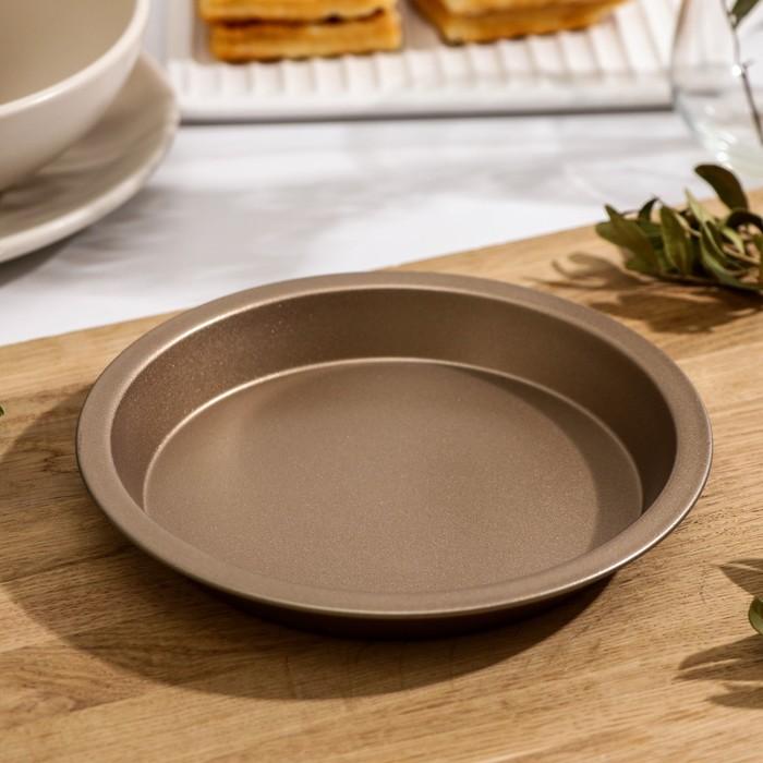 "Baking dish, 16 cm ""Circle. Gold"", non-stick coating"